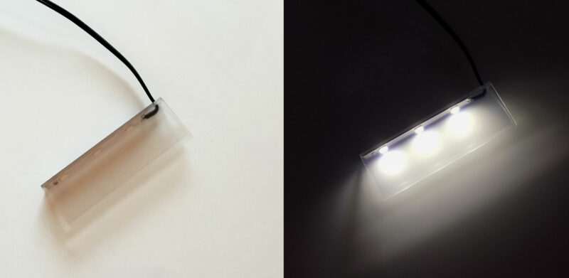 Glaskantenbeleuchtung led Beleuchtung